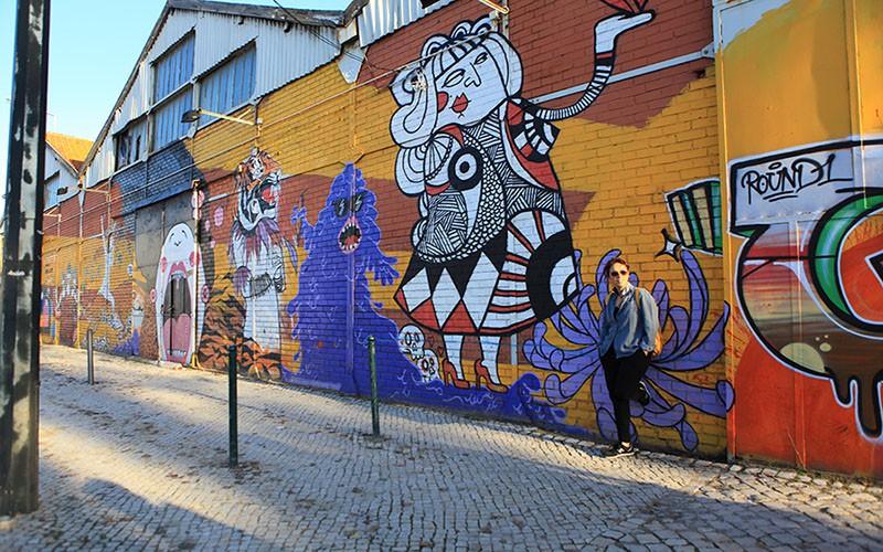 Portekiz-Lizbon-Grafiti