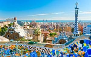 Barcelona-Ispanya-Avrupa