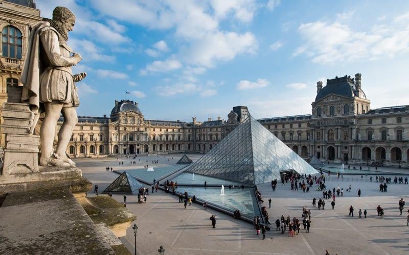 Le Marais & Louvre Müzesi ile ilgili görsel sonucu