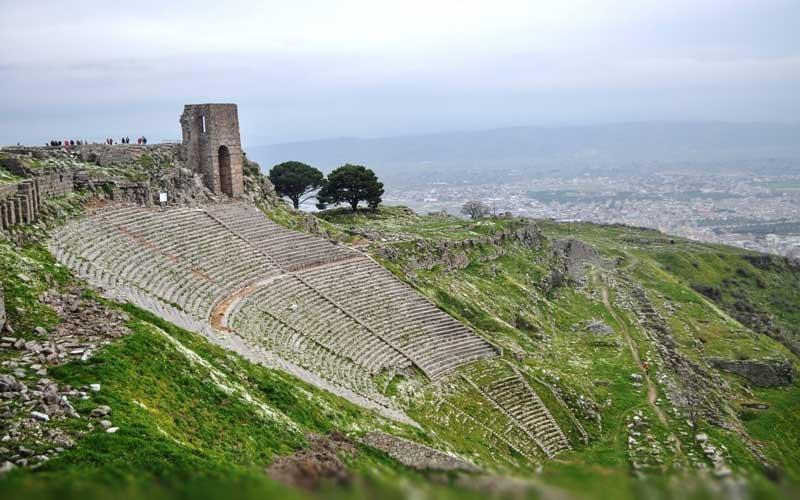 Bergama-Akropolis