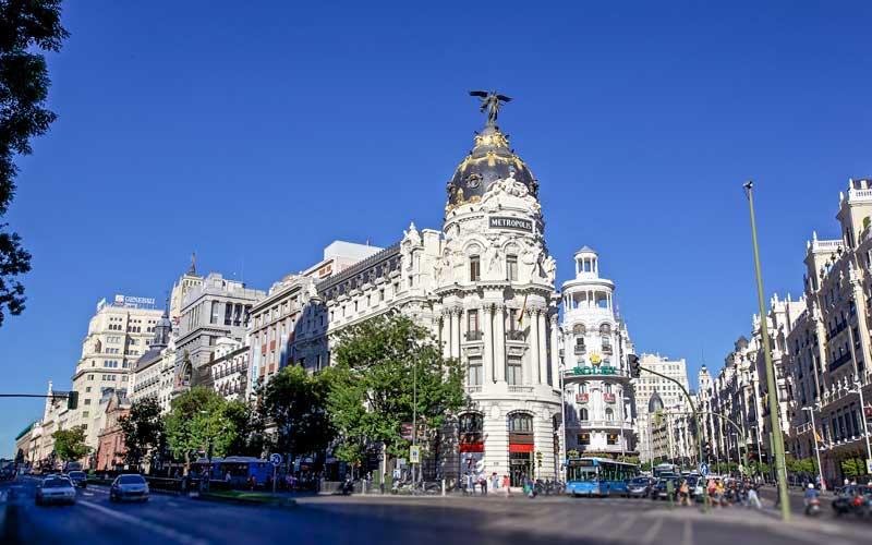 Metropolis-Madrid-Ispanya-