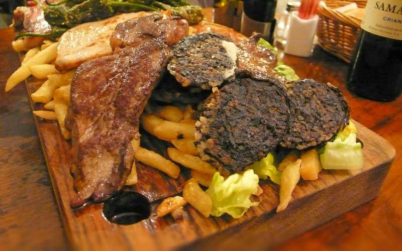 Madrid-Yemek
