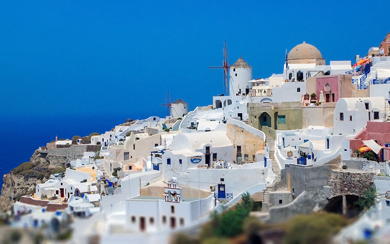 Santorini-Ucak-Bileti