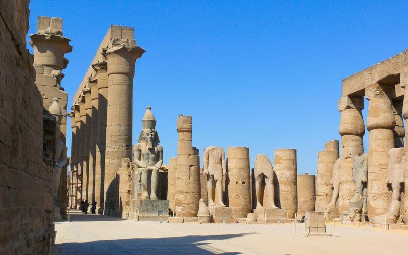 Luxorun en eski şehri (Mısır)