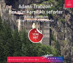 """<p><strong style=""""line-height: 1.6em;"""">Adana-Trabzon Karşılıklı Seferleri Başlıyor</strong></p>"""