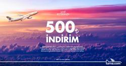 <p>Etihad Hava Yolları'ndan Turna.com'a Özel Büyük İndirim Fırsatı Sizleri Bekliyor!</p>