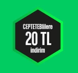 <p><strong>CEPTETEB'liler Turna.com'dan alacakları uçak biletlerinde 20 TL indirim kazanıyor!</strong></p>