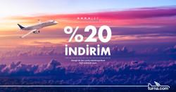 <p>Turna.com'a Özel Borajet Uçuşlarında %20 İndirim</p>