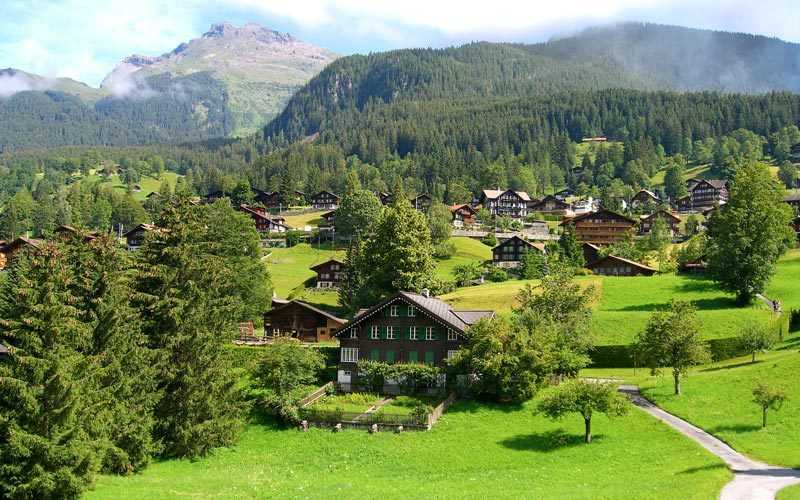 Grindelwald-Isvicre