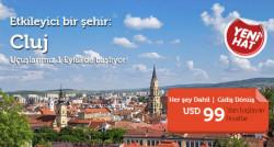 <p><strong>Cluj Promosyon Uçak Bileti Fırsatı</strong></p>