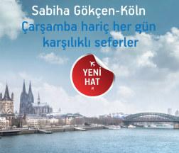 <p><strong>İstanbul-KölnKarşılıklı Seferleri Başlıyor</strong><o:p></o:p></p>