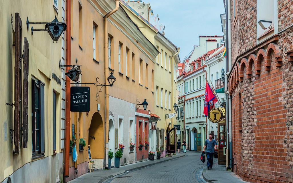 Stikliu, Vilnius