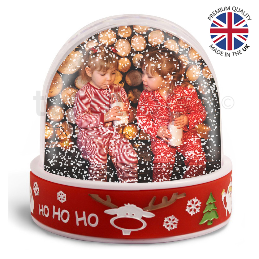 Latest Christmas Snow Globes With Photo Insert