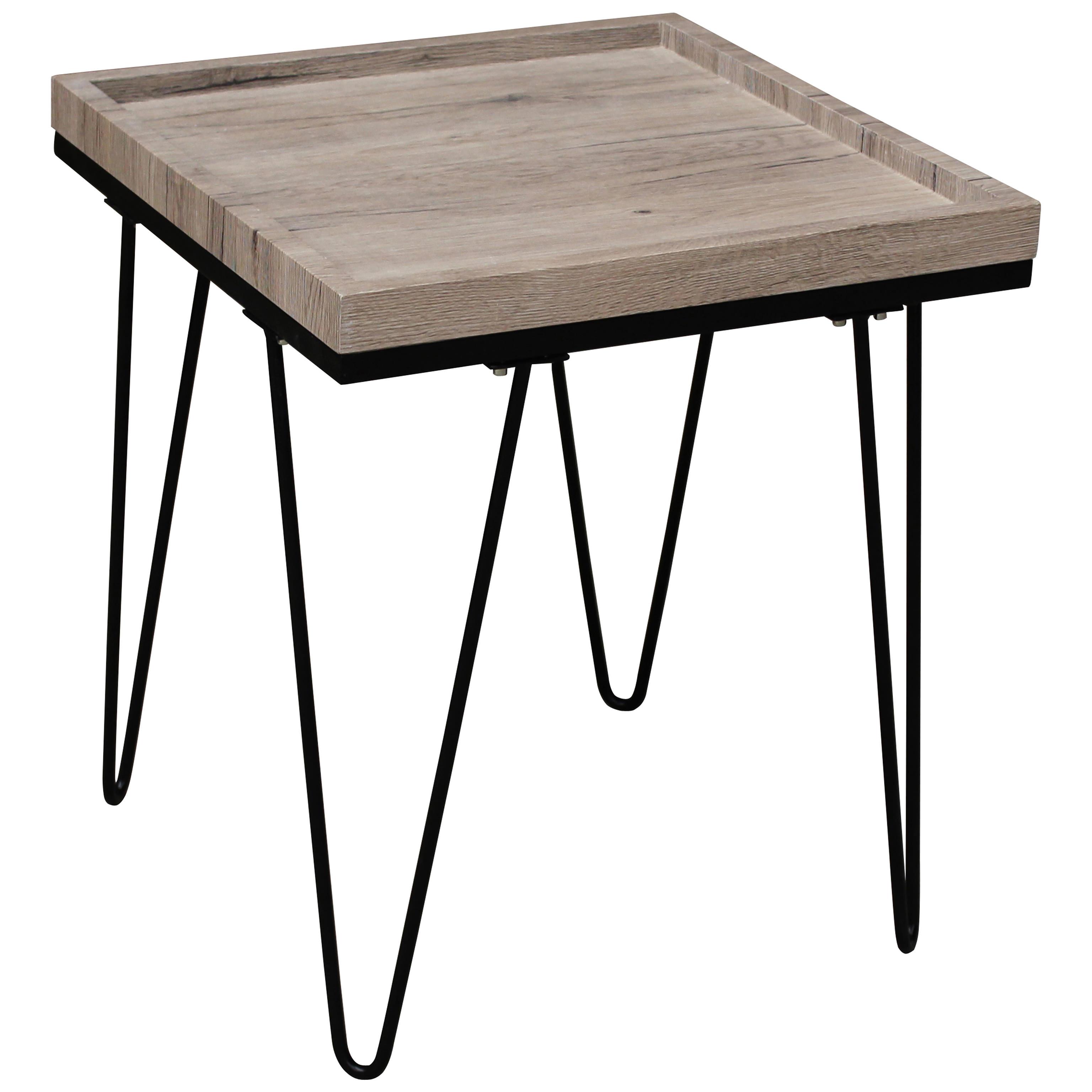 Oak Effect Finish End Lamp Small Side Coffee Table Ebay