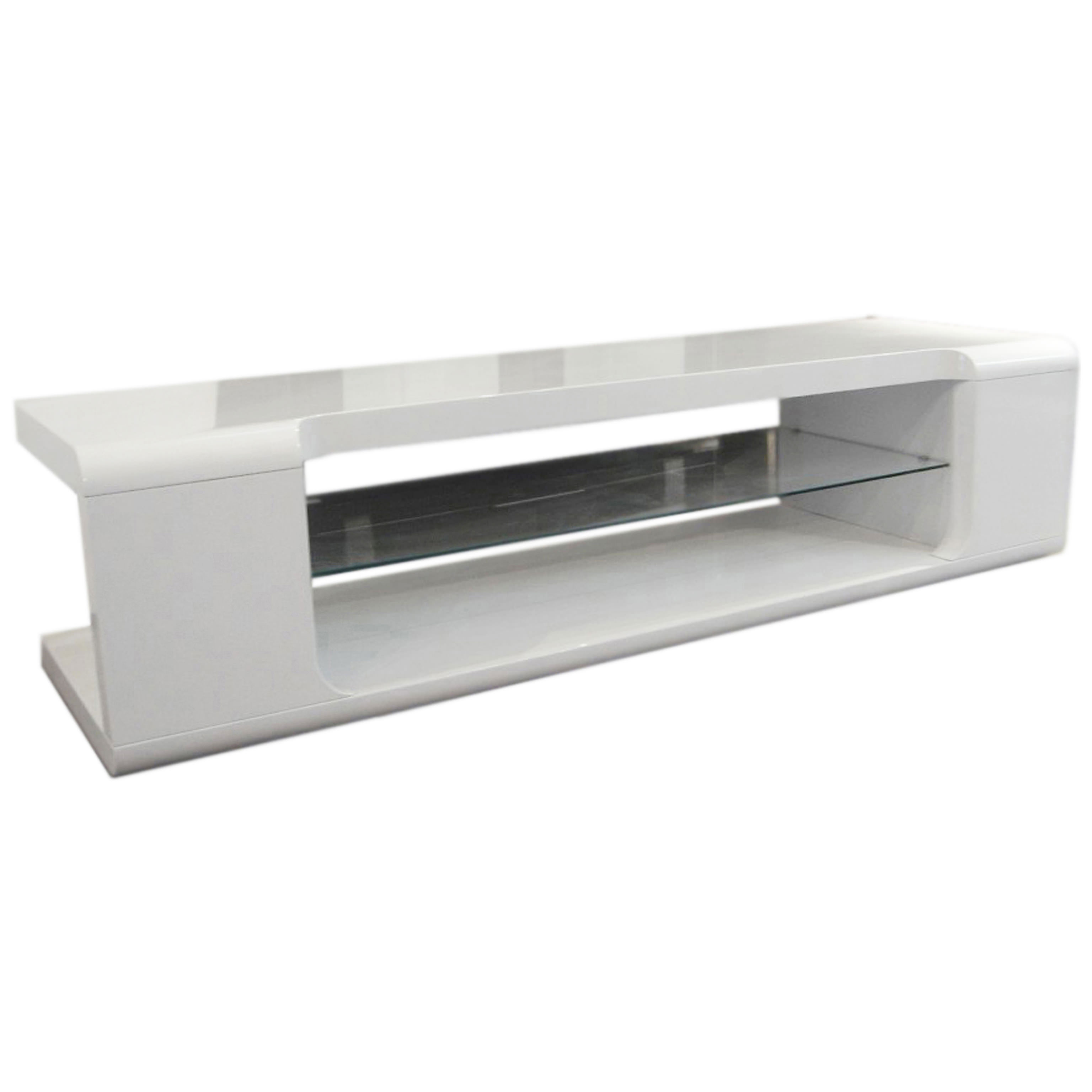 High Gloss Flat Screen Plasma Lcd Tv Table Stand Cabinet Unit  # Decoration Tv Plasma Et Table