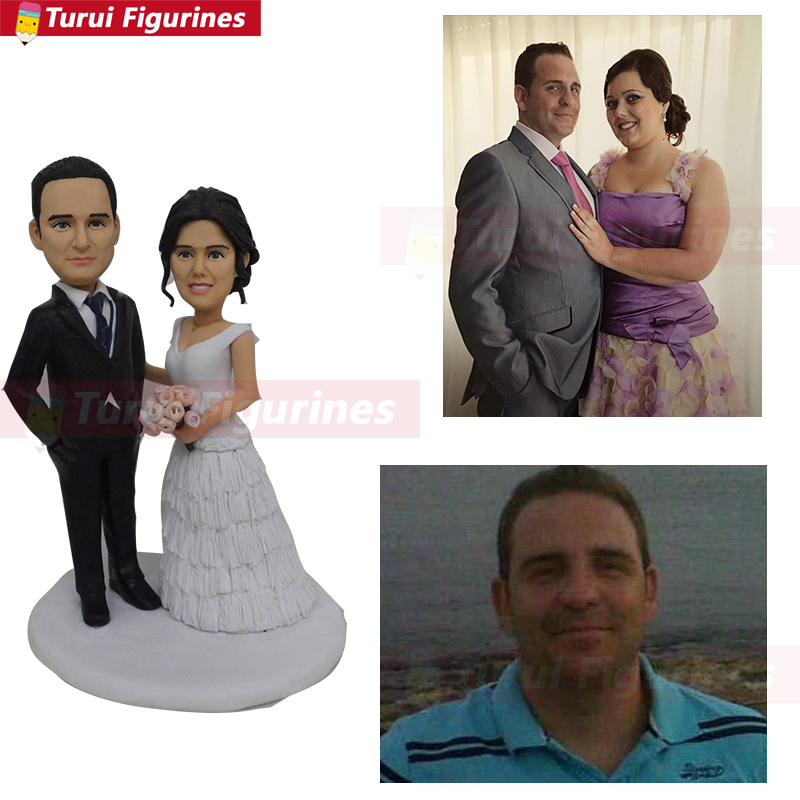 mini yourself statue sculpture from photo real face
