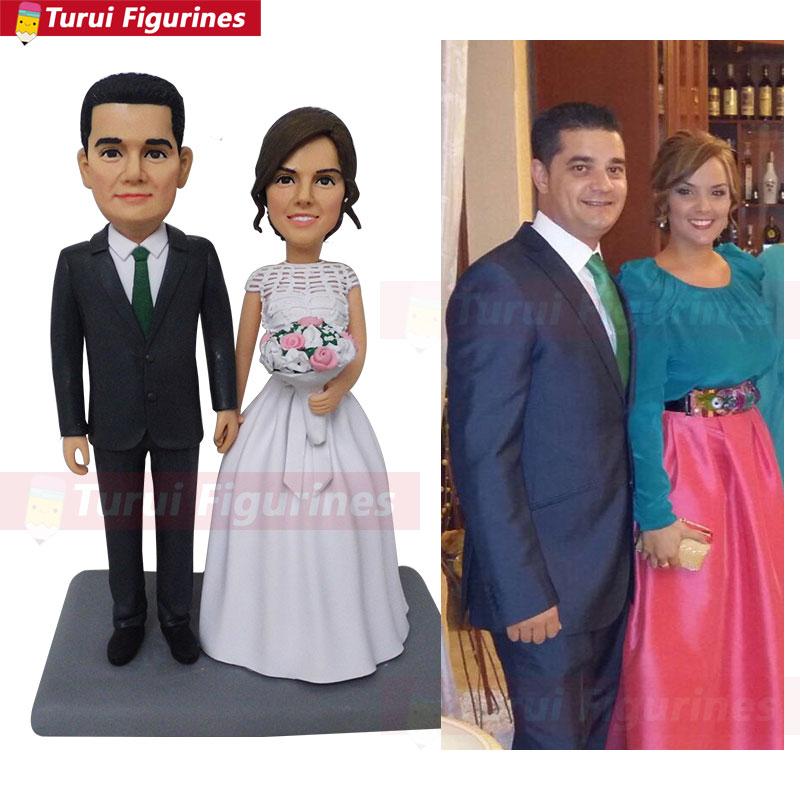 wedding Toys Figure Sculpture Hand Made cake topper