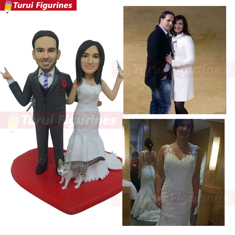 Funny Cake Topper for Wedding Cake Topper customized