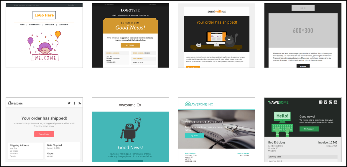 Download Free Beautiful HTML Email Templates - TutBakery