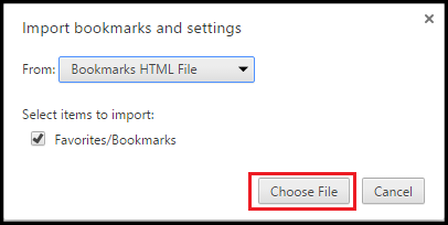 How To Export And Import Google Chrome Bookmarks