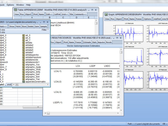 Learn Econometrics with Eviews 7 1 and an easy-to-use Study Pack