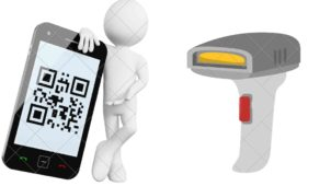 QR payment system in maximum mobile
