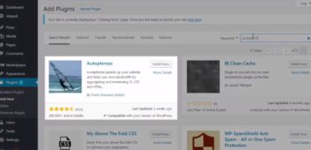 the best settings and tutorial of atuoptimize plugin of wordpress