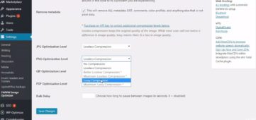 the best settings of EWWW image optimizer wordpress plugin tutorail
