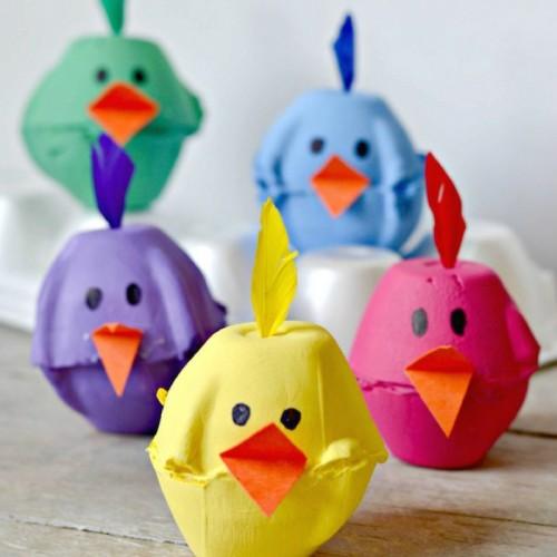 Yumurta Kartonlarından Civciv Yapalım Mı Sihirli Yolculuk