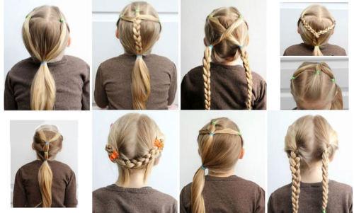 Çocuğunuzla Yapabileceğiniz Kolay Saç Modelleri