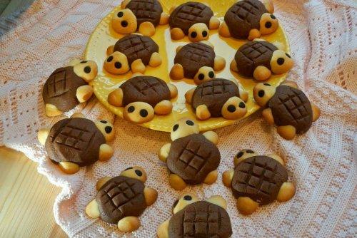 Nefis tarifler: kaplumbağa kurabiyeler