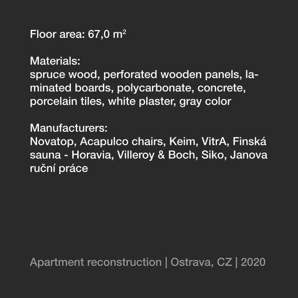 Nest | Apartment reconstructionHnízdo | Rekonstrukce bytuDesign:@tvarycreativegroupManufacturers:@novatop_system@sillaacapulcooriginal@keimfarben@vitrabathrooms@sauna.cz@villeroyboch@siko_czsk@janova_rucni_prace…#architecture#architektura #home #homes #homedesign #houses #reconstruction #architects #dreamhome #homesweethome #luxury #luxuryhomes #architecturelovers #archwork#design #interior #interiordesign #civilengineering