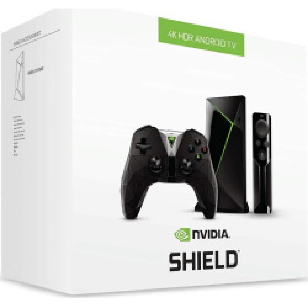 جهاز Nvidia Shield TV بنظام اندرويد 7.0