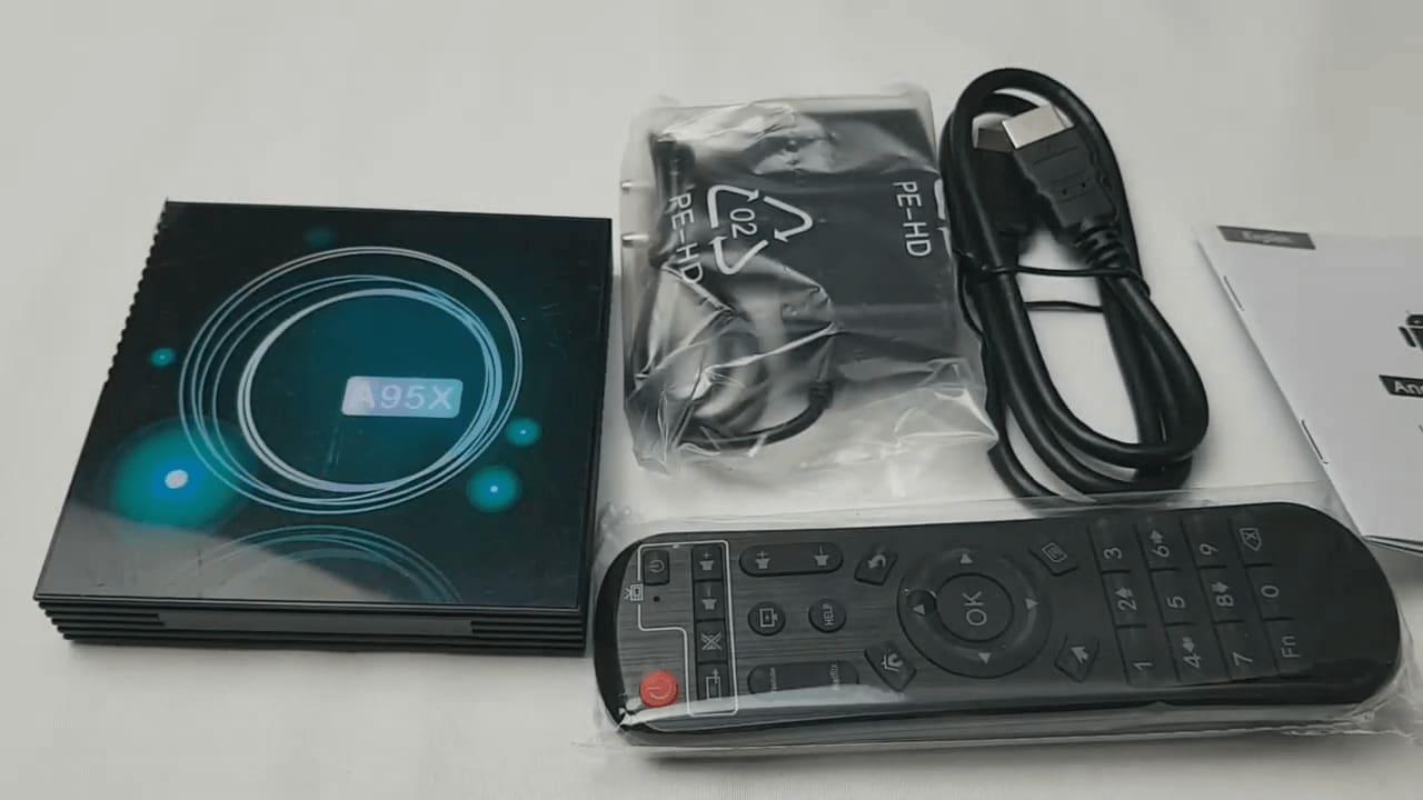 جهاز A95X F3 Slim تي في بوكس بمعالج S905X3 bei7ku 67764ec13