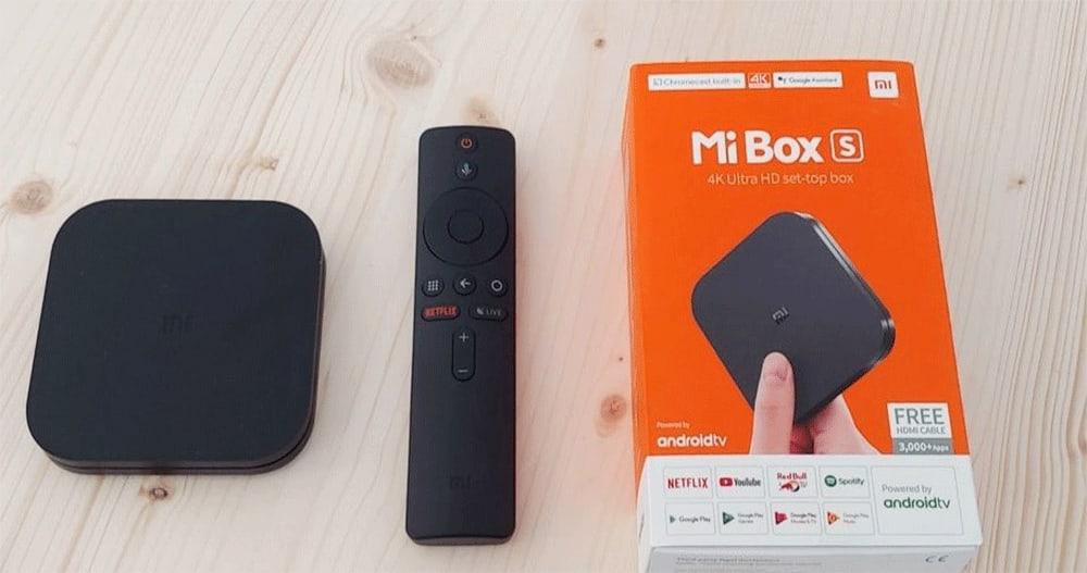 في جهاز Xiaomi Mi Box S