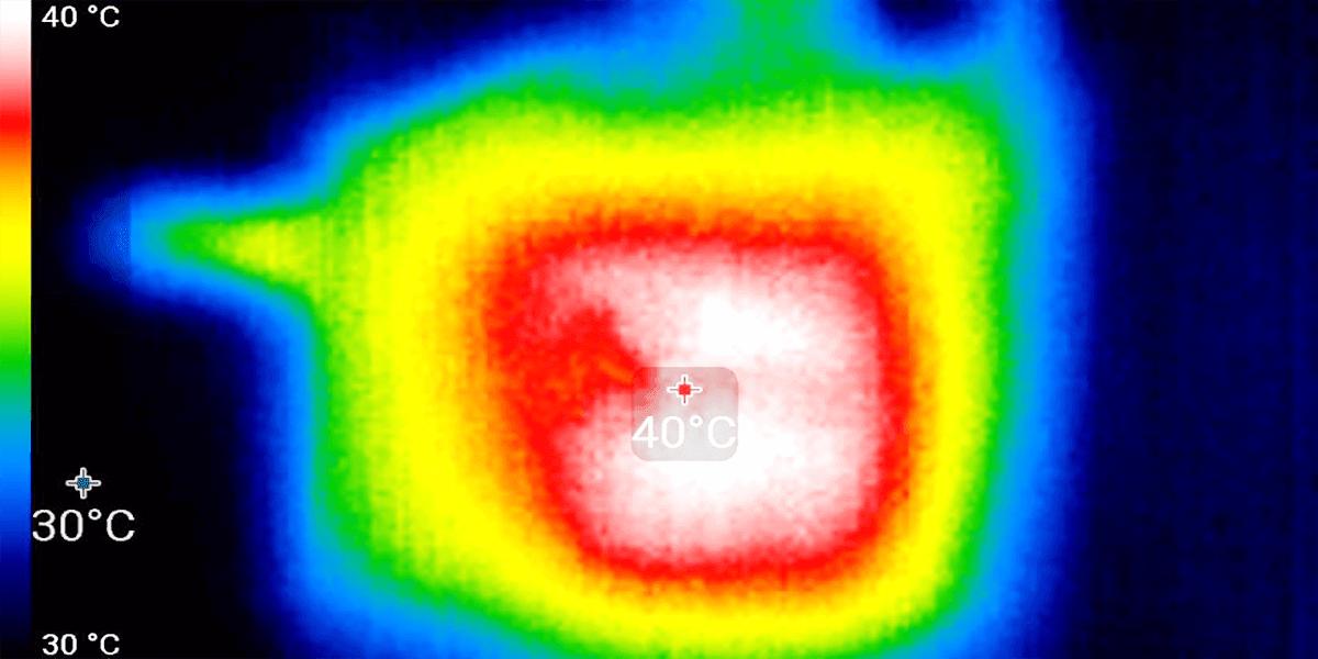 درجات الحرارة جهاز X96 Air تي في بوكس