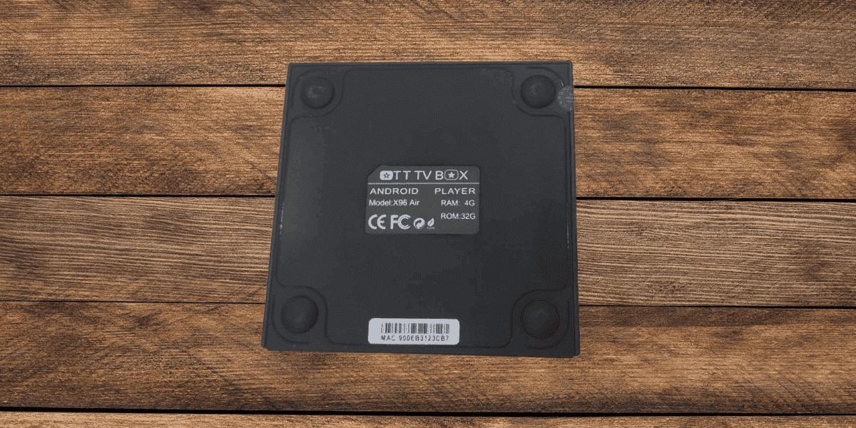 وصف جهاز X96 Air تي في بوكس الجديد