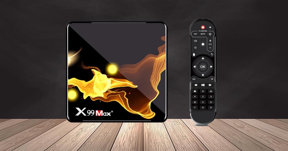 جهاز X99 Max Plus تي في بوكس بمعالج S905X3