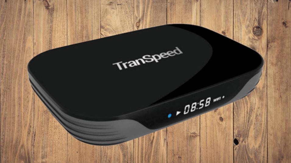 جهاز Transpeed X3 Air تي في بوكس بمعالج S905X3