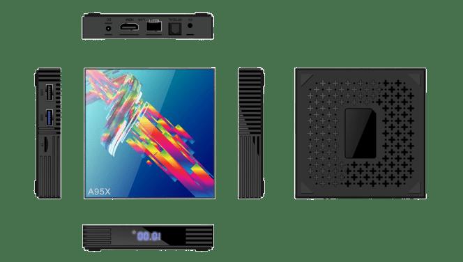 جهاز A95X R3 نظام أندرويد 9.0