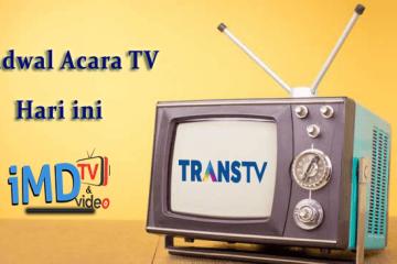 Jadwal Acara TransTV Hari ini