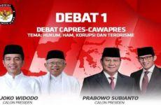 Debat Perdana Pilpres 2019