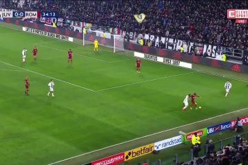 Gol Mandzukic Juventus 1-0 Roma
