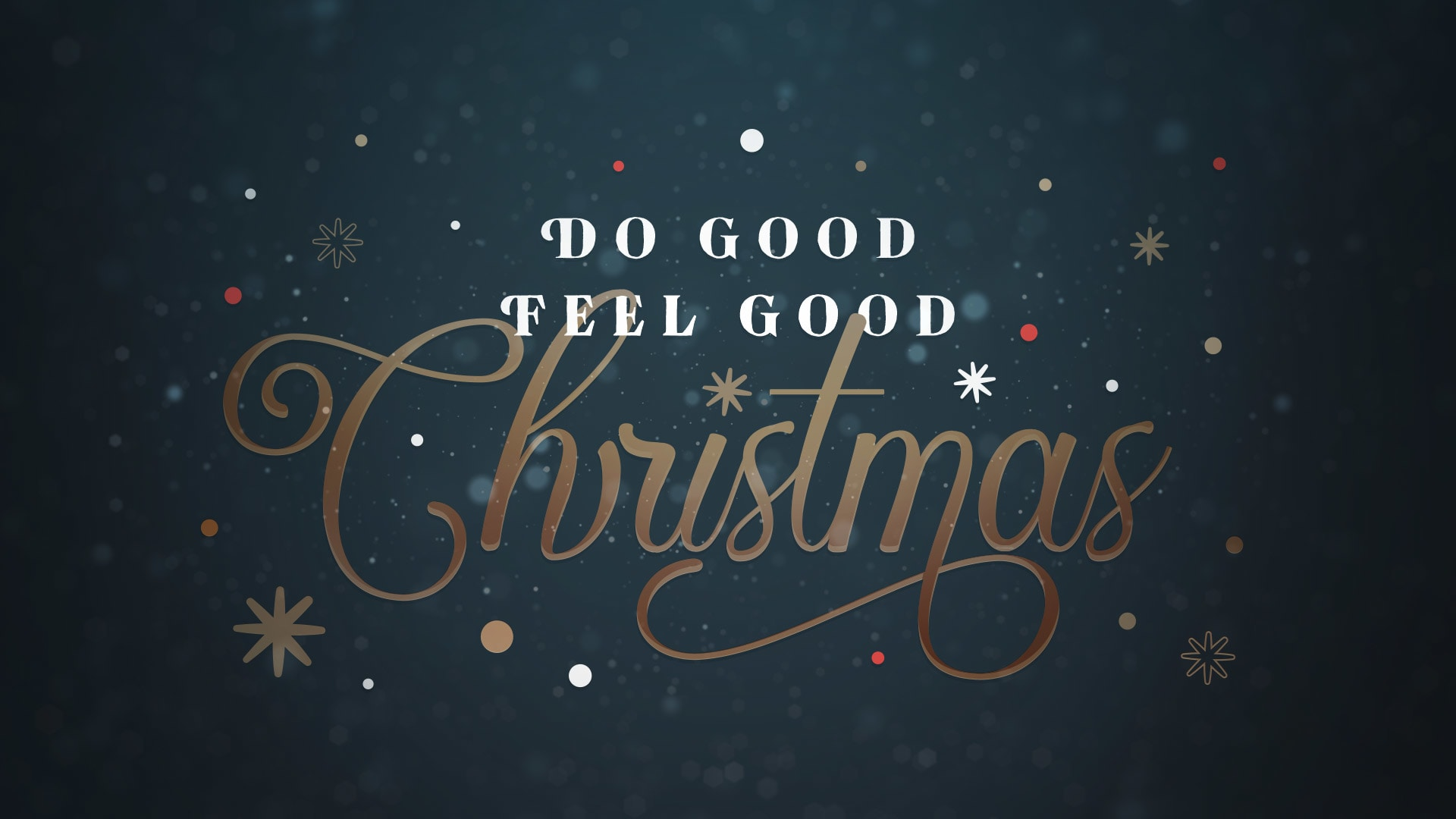 Do Good Feel Good Christmas