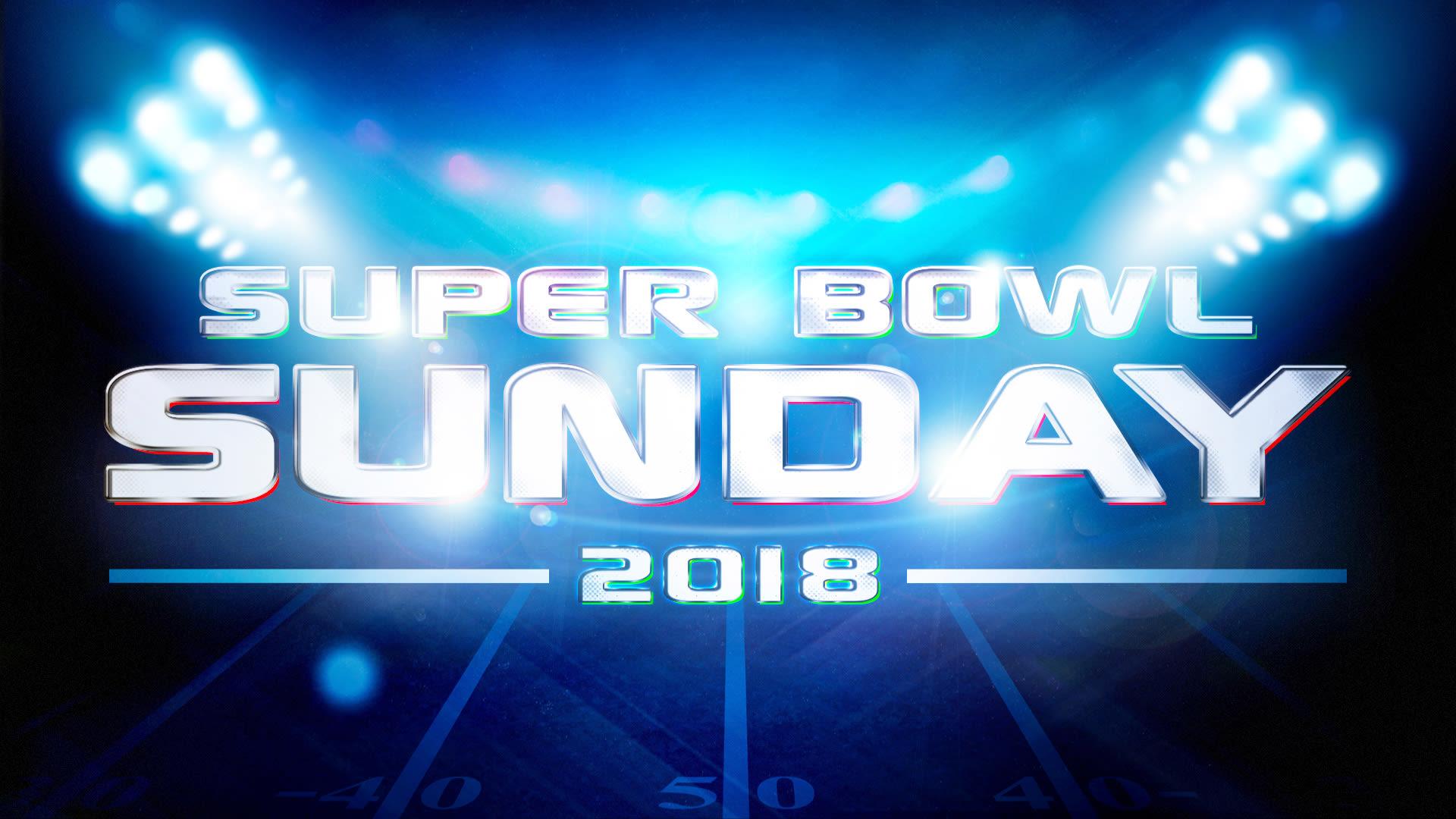 Super Bowl Sunday 2018