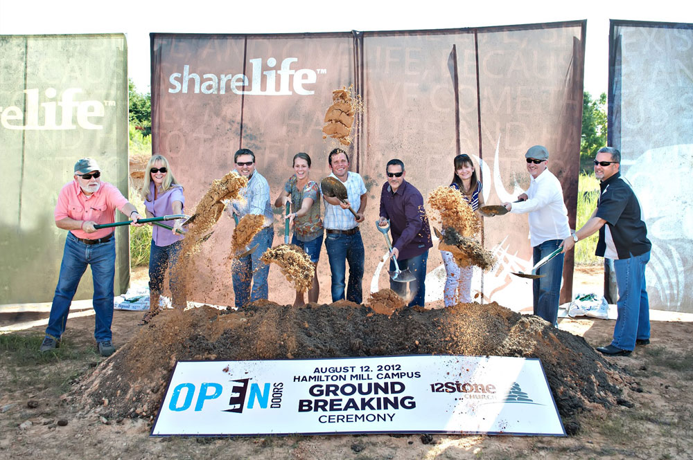 'Open Doors' Ground Breaking
