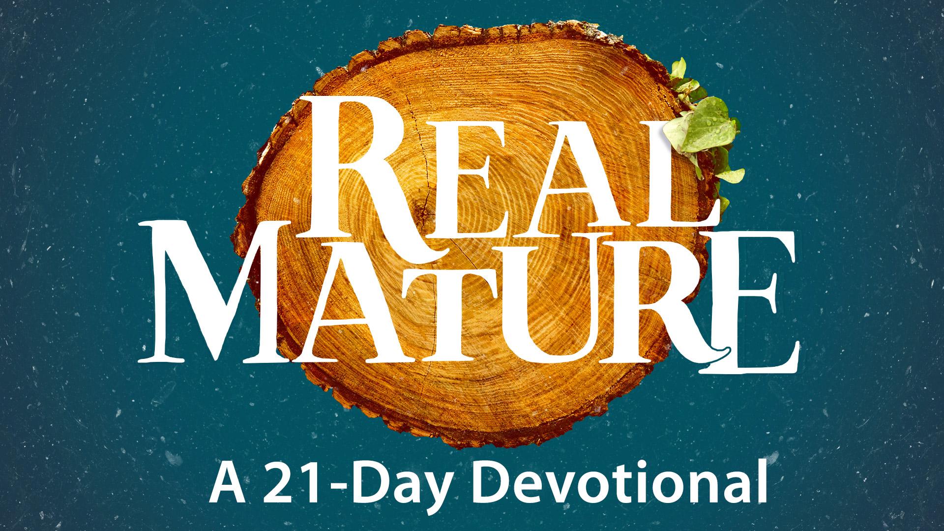21-Days on Spiritual Maturity