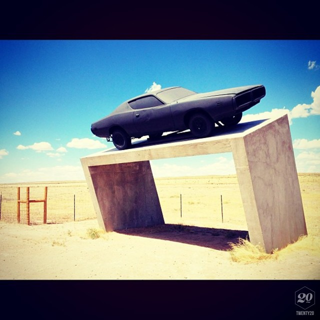 The West Texas Weld - this is an art installation just