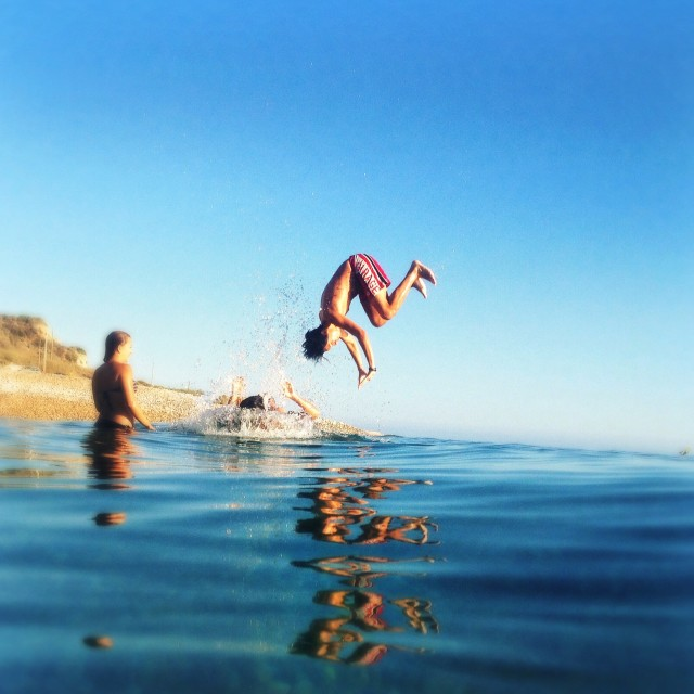 Jump in the Summer