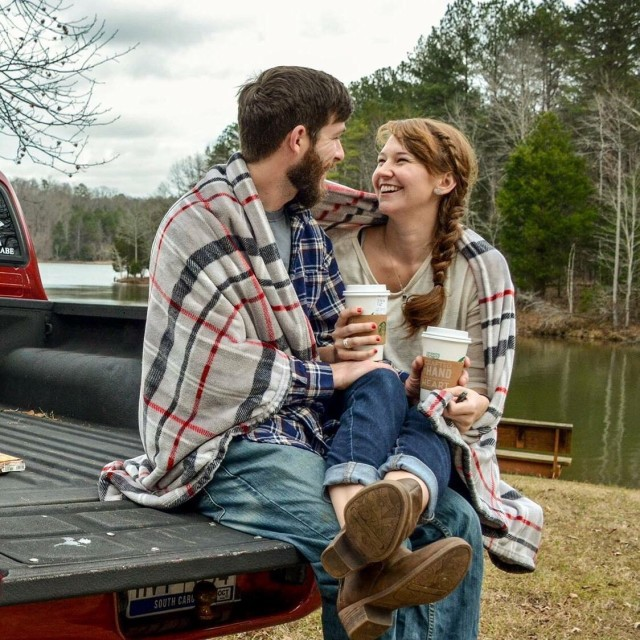 Love, coffee, and a truck